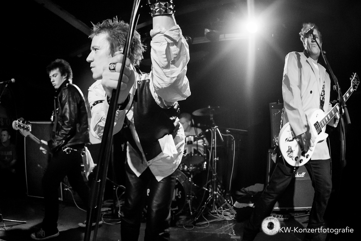 Menace + The Sex Pistols Experience at the Indra on 07/02/2014