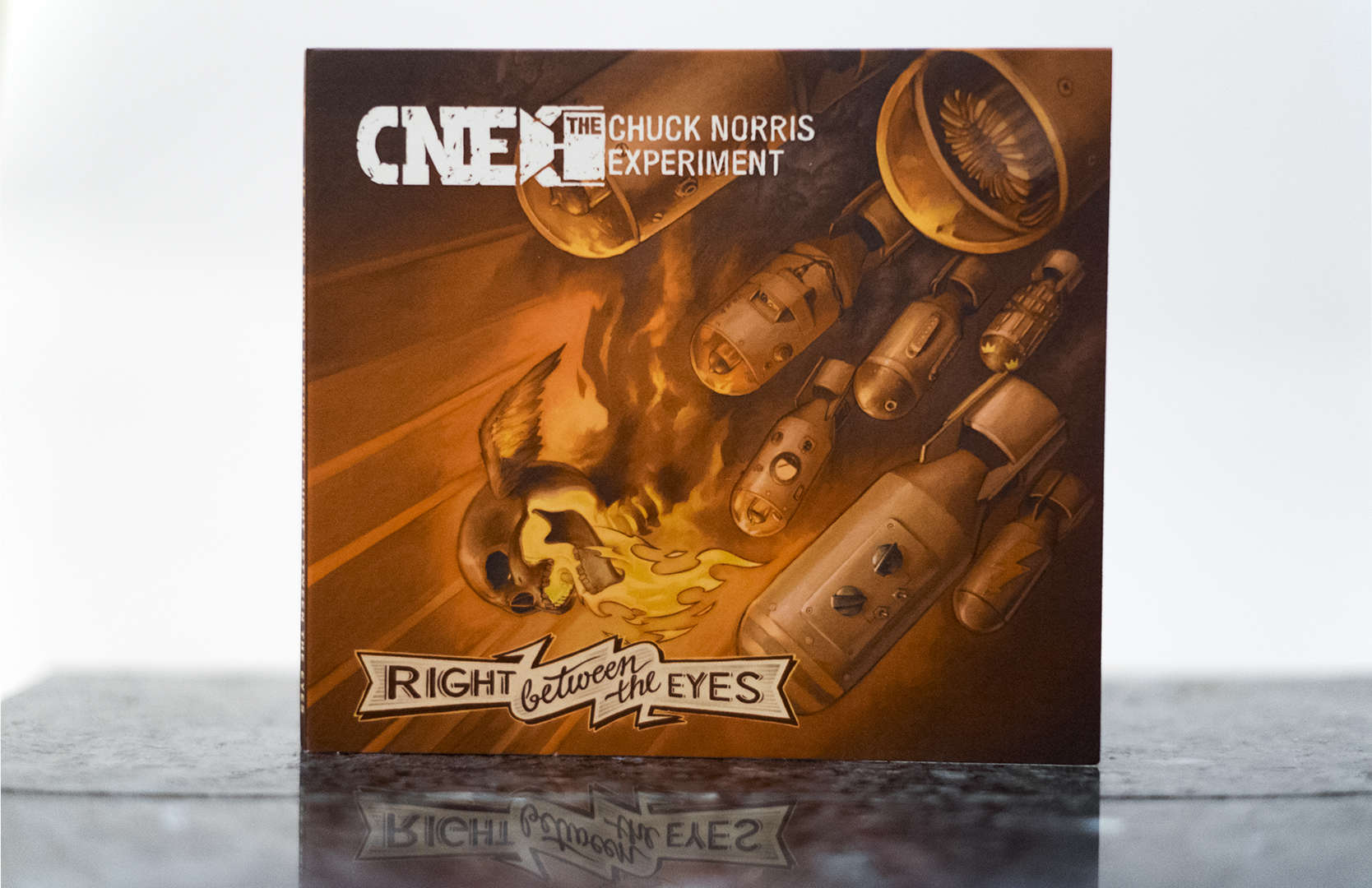 The Chuck Norris Experiment – Right Between The Eyes