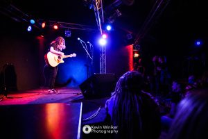Chloe Howes supporting Beans On Toast at the Monkeys Music Club in Hamburg on 24/03/2018